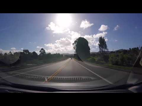 Driving from San Luis Obispo, CA, to San Francisco
