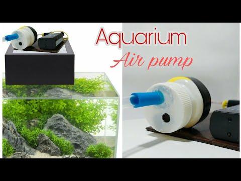 How To Make Air Pump For Aquarium - DIY Air Pump