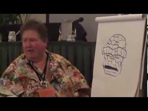 2013 San Diego Comic Fest - Scott Shaw! Talks About Working At Hanna-Barbera!