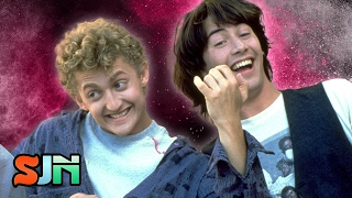 Bill And Ted 3 - Keanu Reeves Spills Plot!!!