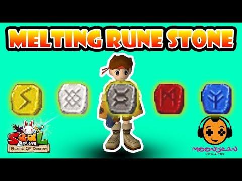 Seal Online Blade of Destiny | Melting 10 Rune Stones