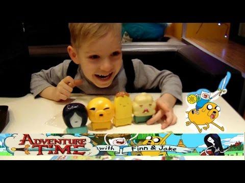 Хеппи Мил ВРЕМЯ ПРИКЛЮЧЕНИЙ 2017!Джейк,Мистер Кекс,Принцесса Вампиров,Мистер Банан!Adventure Time!