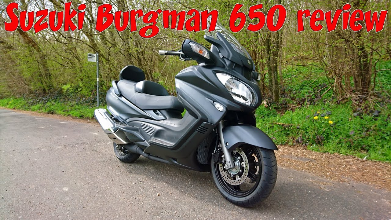 suzuki burgman 650 executive review youtube. Black Bedroom Furniture Sets. Home Design Ideas