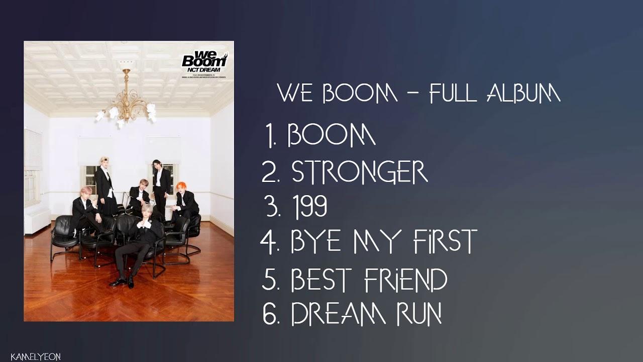 [FULL ALBUM] NCT Dream (엔시티 드림) – We Boom (3rd MINI ALBUM)