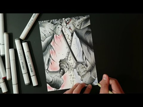 MADARA VS HASHIRAMA! | Zain Artz | Speed Drawing |