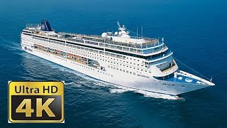 Cruise SHip Tour inside and outside by day and night Rundgang Msc S...