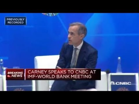 Mark Carney: Powell understands the plumbing of US and global financial systems | Squawk Box Europe