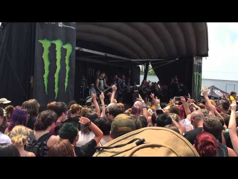The Amity Affliction @ Warped Tour