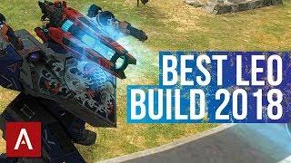 War Robots: BEST SETUP for Leo 2018 | Good for Brawling and Range!