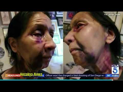 70-Year Old Mexican-American Woman Is BATTERED On LA Bus By Black Woman Who Thought She Was ASIAN!