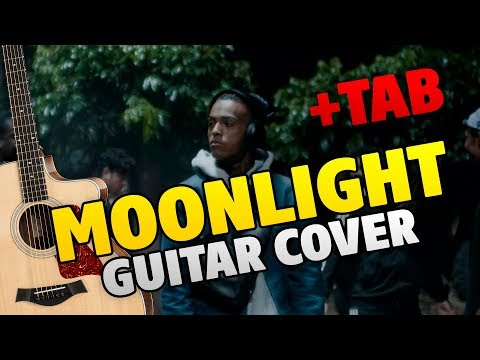 XXXTENTACION – Moonlight (fingerstyle guitar cover with tabs)