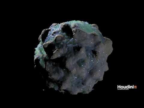 Houdini FLIP Fluid & Radial Gravity | FlexMonkey