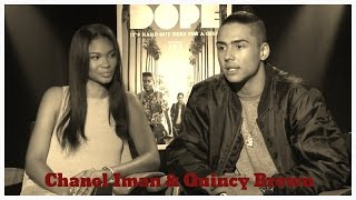 Chanel Iman and Quincy Brown DOPE Interview on BlackTree TV