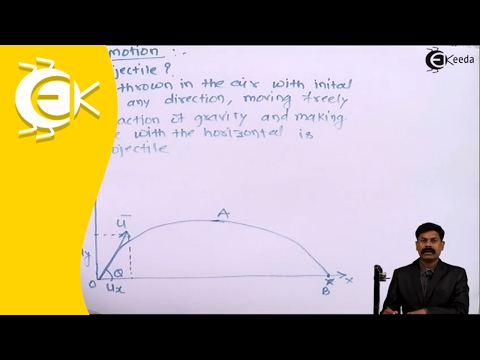 What is Projectile Motion | Ekeeda.com