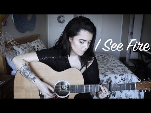 Ed Sheeran - I See Fire (Violet Orlandi cover)