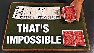 This INSANELY VISUAL Card Trick Will BLOW YOUR MIND!