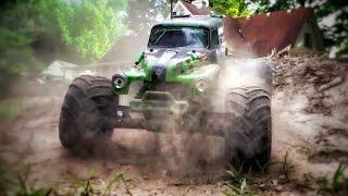 RC Grave Digger Awakens - Monster Truck Freestyle Traxxas Monster Jam Style