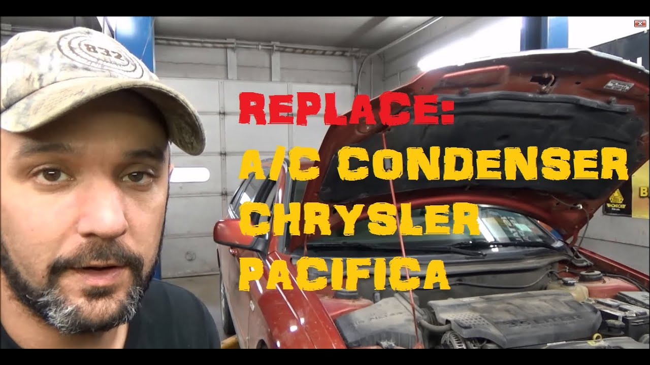 Town And Country Dodge >> A/C Condenser Remove & Replace : Chrysler Pacifica - YouTube