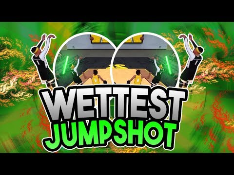 NBA 2K18: BEST JUMPSHOT AFTER LATEST PATCH • GREENLIGHT MACHINE (NEVER MISS AGAIN)