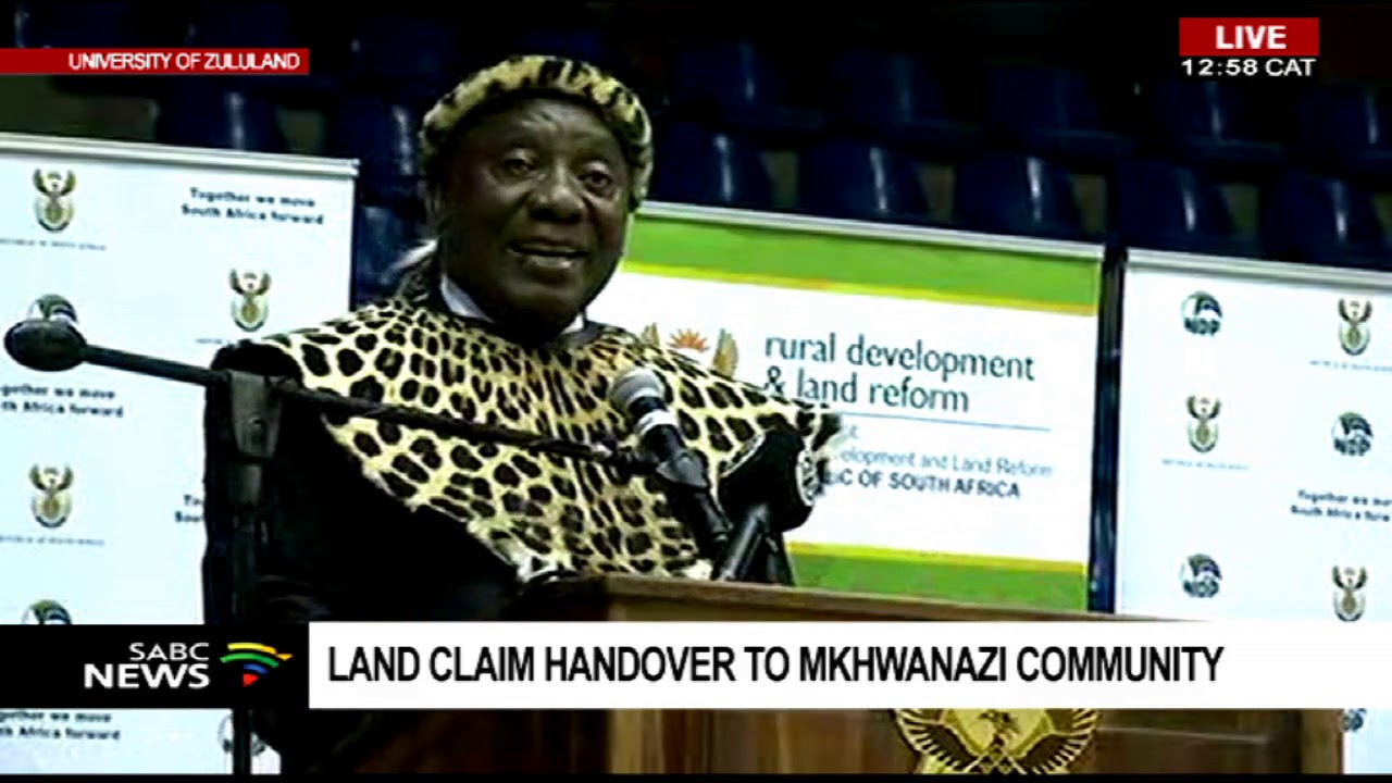 President Ramaphosa Speaks. Land Reclamation to Mkhwanazi Community. Truth & History