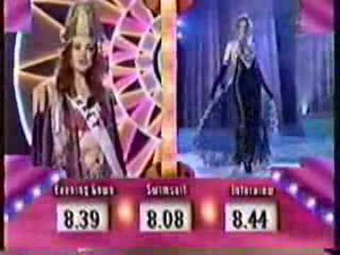 Miss Universe 1996 Parade of Nations 2