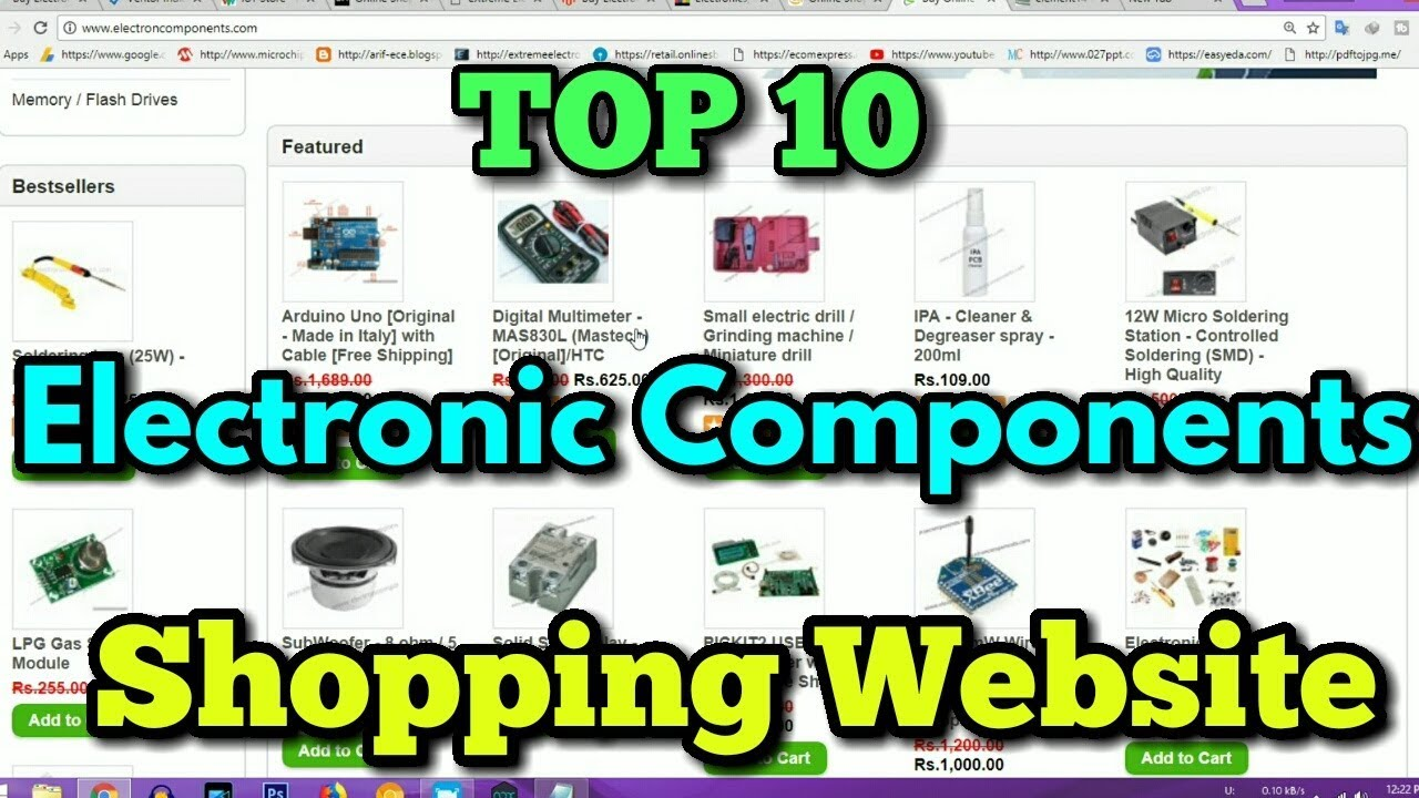 9882ecb56420c Top 10 Indian Electronics Components Shopping Website In HINDI (2018 ...
