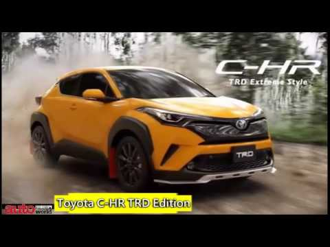 toyota c hr trd edition youtube. Black Bedroom Furniture Sets. Home Design Ideas
