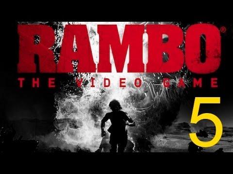 Rambo The Video Game прохождение миссия 5. Рембо с луком снова Вьетнам