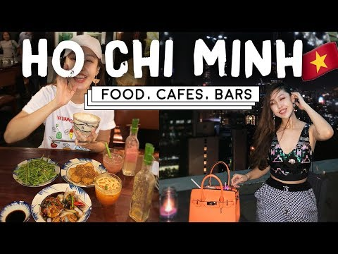 Ho Chi Minh City: Cheap foods, Instagram-able Cafes, Bars, VIETNAM TRAVEL VLOG 2018