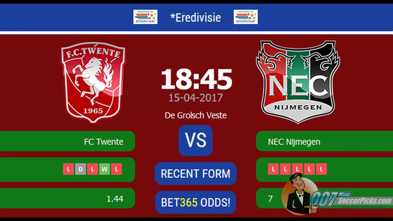 Nec nijmegen vs twente betting tips dubbed matched betting example