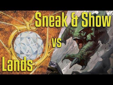 Brainstorm MTG | Legacy Magic: The Gathering | Lands VS Sneak & Show