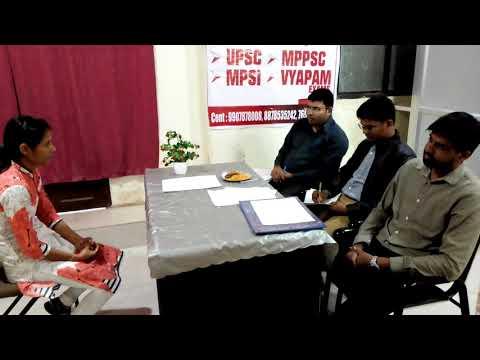 MPSI INTERVIEW MOCK TEST 2018 PART 10 by सक्षम IAS INSTITUTE INDORE