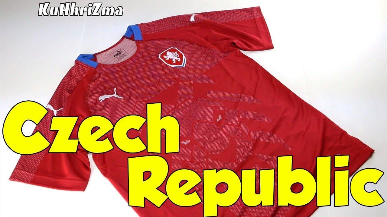 593776b5209 Puma Czech Republic 2018 Home Soccer Jersey Unboxing + Review - YouTube