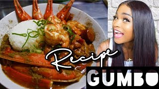 Cook with me || THE BEST DARN CHICKEN SAUSAGE SEAFOOD GUMBO YOU