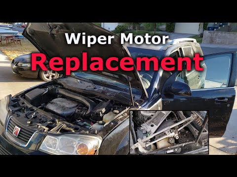 How to Replace a Wiper Motor – Windshield Wiper Motor Replacement (Saturn Vue 2002-2007)
