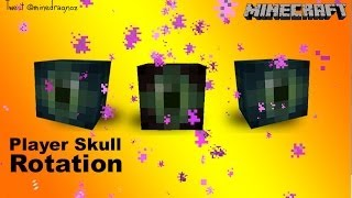 Player Skull Rotation Tutorial - Ender Eye That Follows You