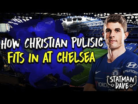 How Christian Pulisic Will Fit into Sarri's Chelsea | Starting XI, Formation & Tactics