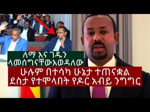 PM Abiy's Speech After EPRDF Merger