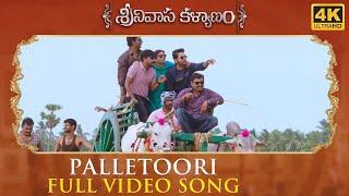 Palletoori Full Song Srinivasa Kalyanam Songs | Nithiin, Raashi Khanna