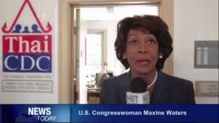 NBT WORLD interviews US Congresswoman Maxine Waters