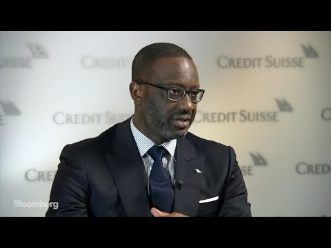 Credit Suisse CEO Thiam on Asia Volatility, Negative Rates, No-Deal Brexit