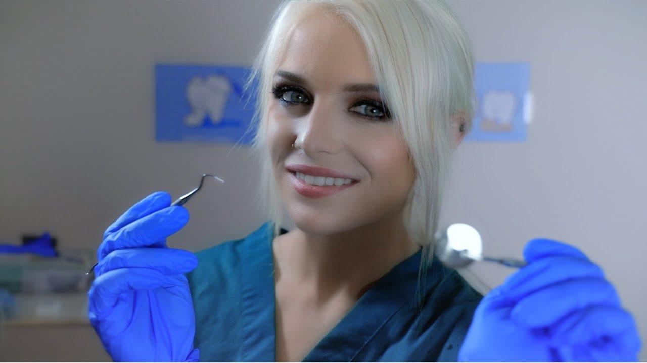 ASMR   Dentist Teeth Cleaning & Examination