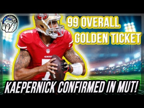 GOLDEN TICKET KAEPERNICK CONFIRMED! HERES WHAT TO EXPECT FROM GOLDEN TICKET KAP MUT 18