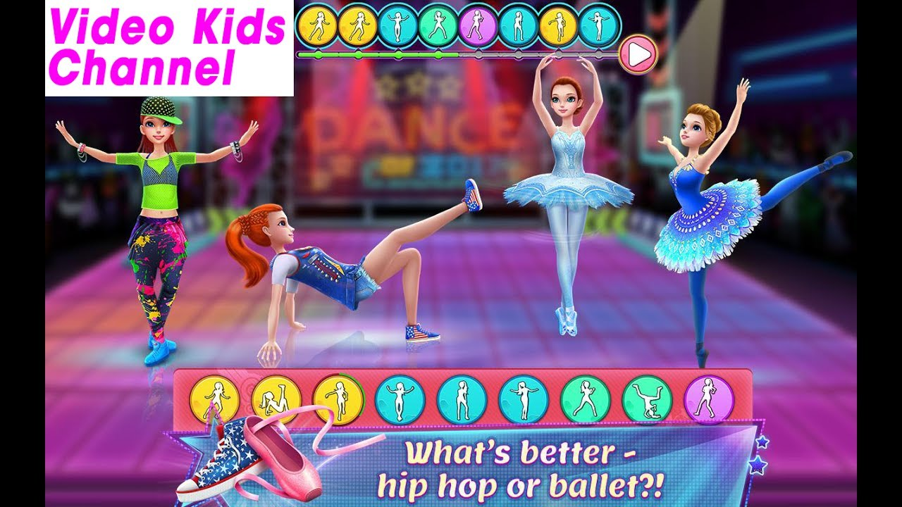 Dance Clash: Ballet vs Hip Hop – Coco Play By TabTale Game[ Video Kids Channel ]