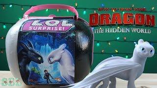 HOW TO TRAIN YOUR DRAGON  Hidden World Custom Bigger LOL Surprise Как Приручить Дракона 3 ЛОЛ Сюрпри