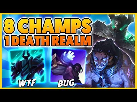 *DEATH REALM 4V4s* EVERYONE IN MORDE ULTIMATE AT ONCE (HILARIOUS) - BunnyFuFuu