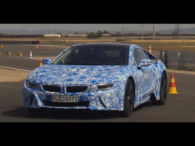 Bmw I8 Hd 2014 Driving Engine Sound In Detail Bmw Hybrid Commercial