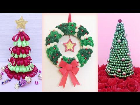 5 Amazing Christmas Decoration Idea || Handmade Things || DIY Craft Idea