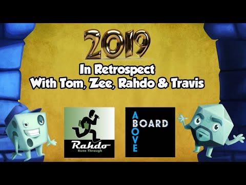 2019 In Retrospect - With Tom, Zee, Rahdo & Travis