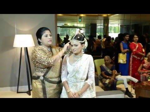 Sinhalese wedding, Hilton Residences, Colombo, Sri Lanka